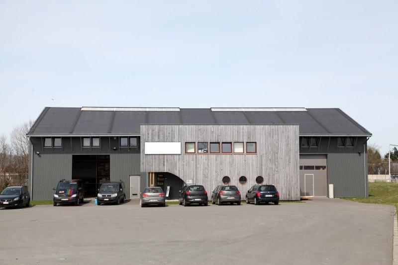 Bastogne hall relais 1 b timent industriel - Point relais luxembourg ...